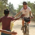 Angkor highlight on bike