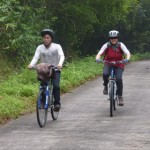 Cycling to Tam Coc