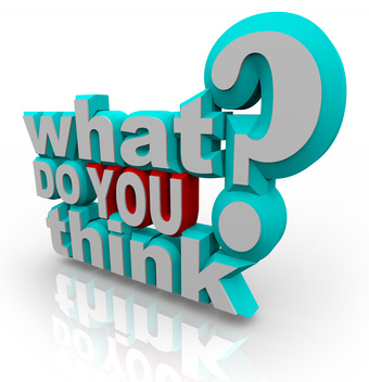 What Do You Think Survey Poll Question