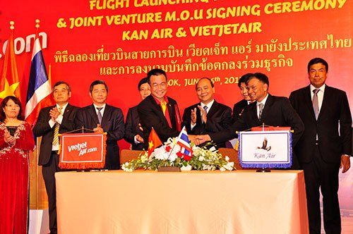 VietJetAir in deal to form airline venture in Thailand