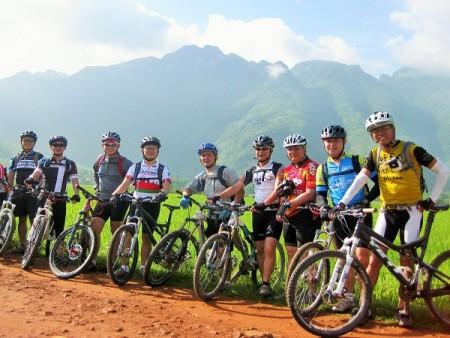 Biking to Binh Lu Valley, Sapa